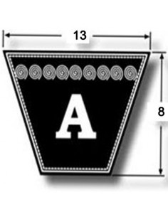 A37.5 13 x 8 x 953 mm Internal - A section V Belt