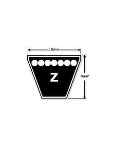 "ZX19.25"" 10 x 6 x 490 mm Internal - Z Section V Belt, Used for Velocette Dynamo Drive Belt"