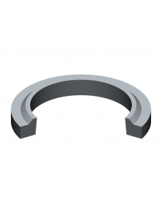 45 mm x 57 mm x 6 mm x 9 mm Wiper Seal Rubber