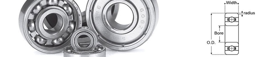 Precision Branded Miniature bearings