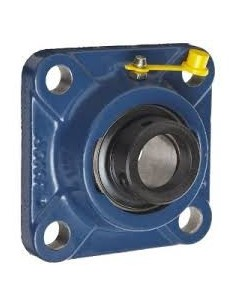SF40EC Self Lube Cast Iron Flange Bearing with Eccentric Collar 4 Bolt