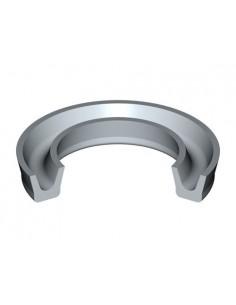 160 mm x 130 mm x 15 mm Metric Rubber U-Ring