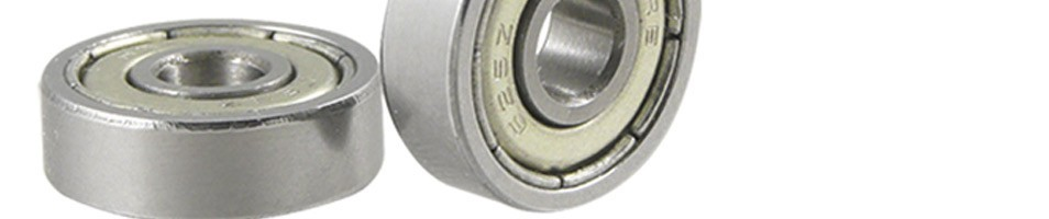 Metal Shielded Deep Groove Ball Bearings